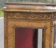 Small Decorated China Display Cabinet